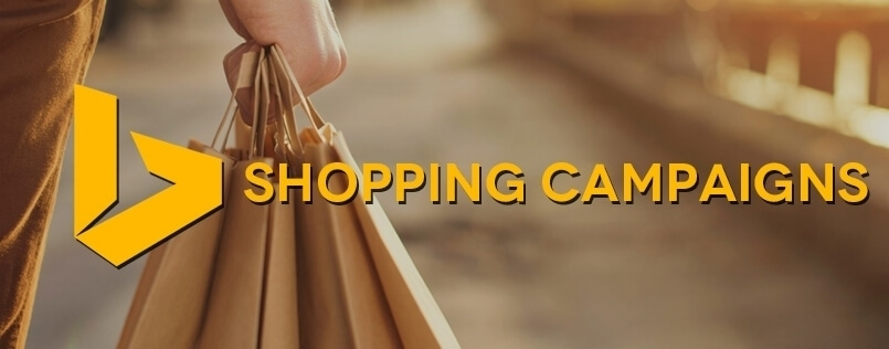 Bing shopping campaign
