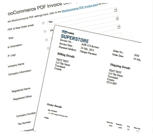 PDF Invoices