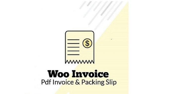 pdf invoice and packing slip plugin for WooCommerce