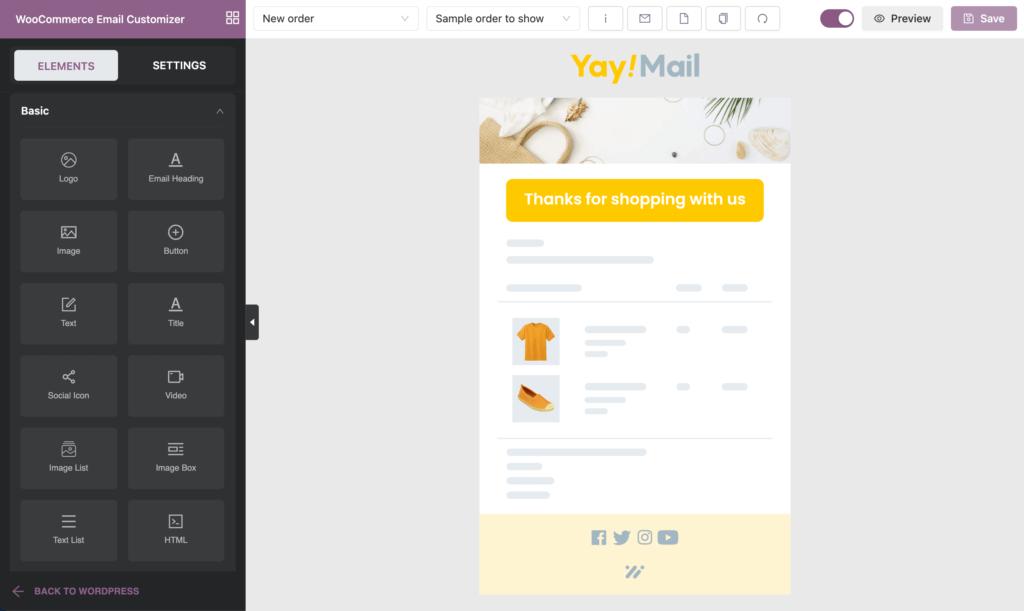 YayMail – WooCommerce Email Customizer