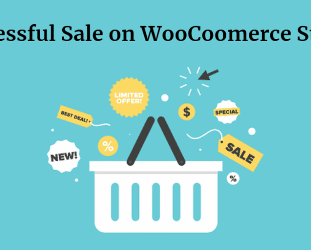 successful sale on woocommerce