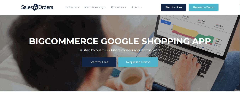 BigCommerce Google Shopping App