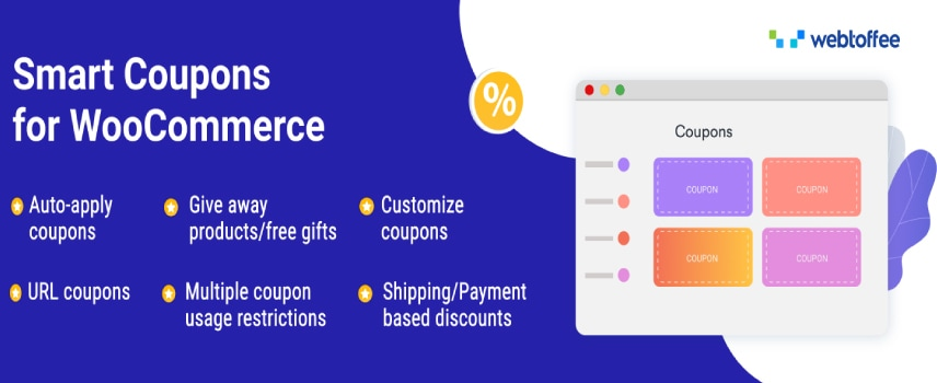 Smart coupon for woocommerce