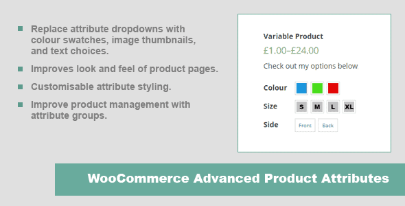 WooCommerce Color Variation plugin