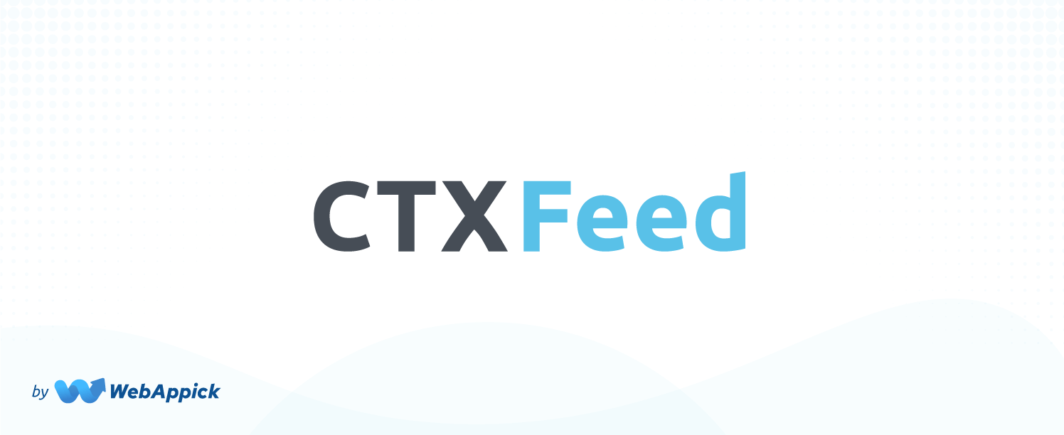 CTX Feed woocommerce plugin