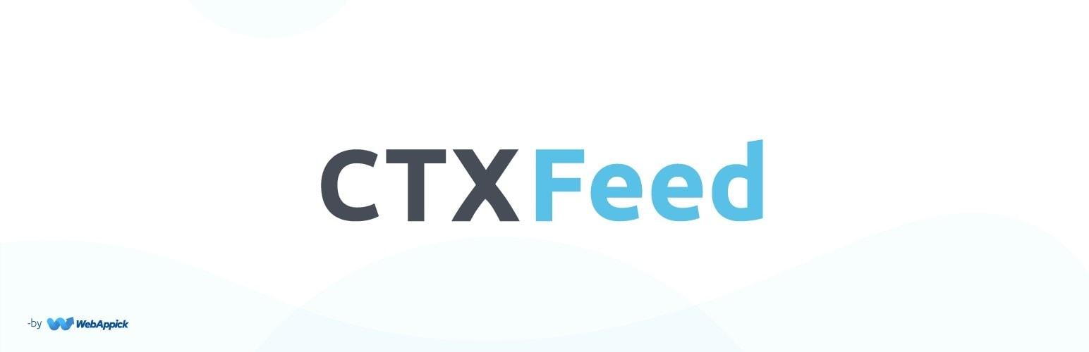 CTX Feed - WooCommmerce product Feed generator