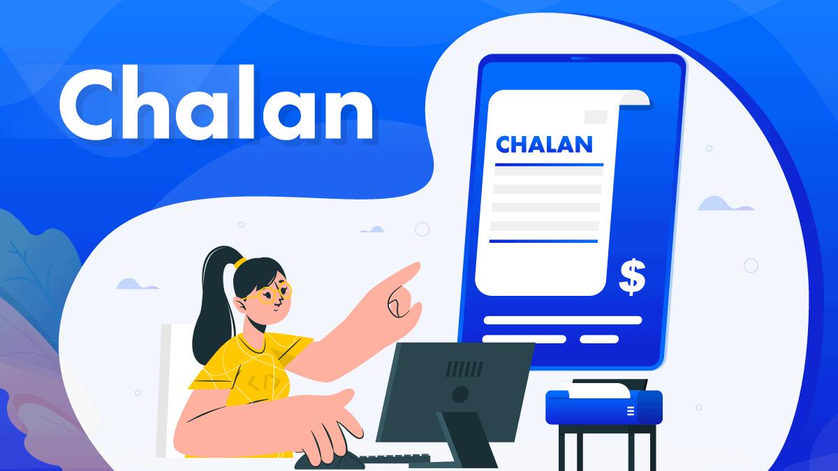 Chalan PDF invoice banner