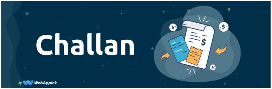 Chalan pdf invoice plugin