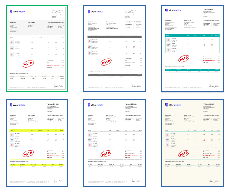 Free and premium PDF invoice templates of Challan