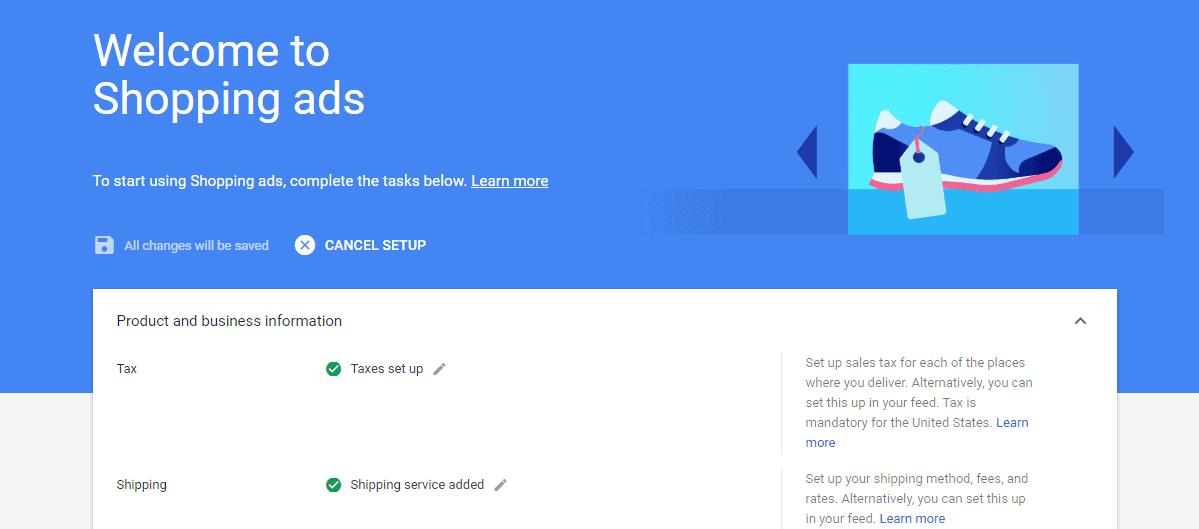 Create Google Shopping Ads