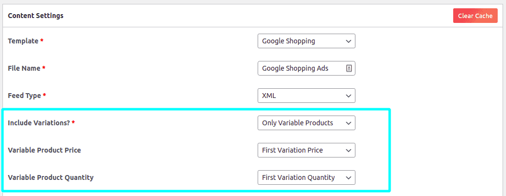 Premium options to deal with product variations