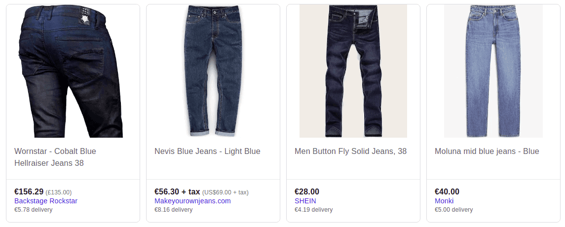 Shopping Ads on Google with delivery charges
