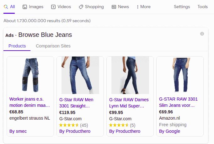 Shopping Ads on Google