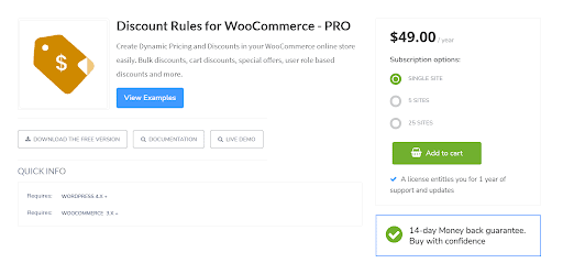 Discount rules for WooCommerce one of the best WordPress plugins