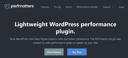 Perfmatters is one of the best WordPress plugins