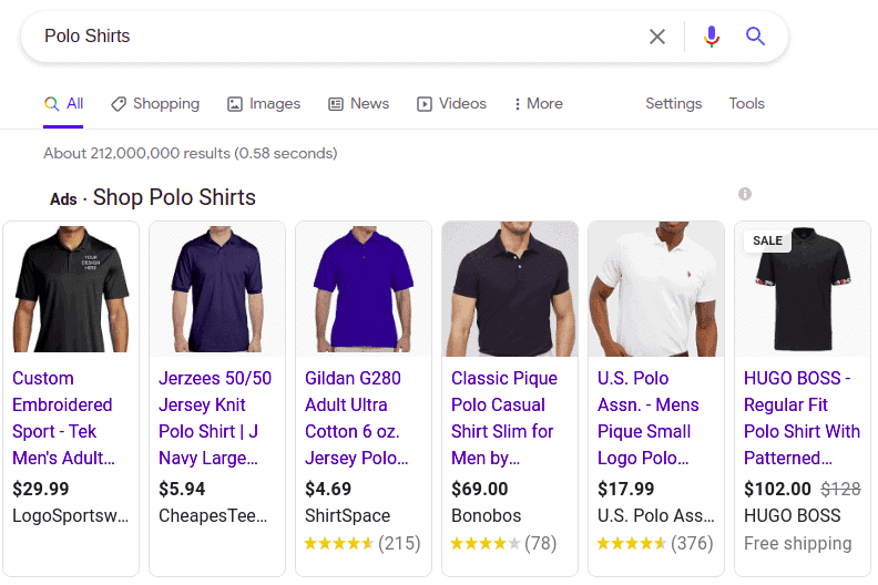 Product promotions on Google Shopping
