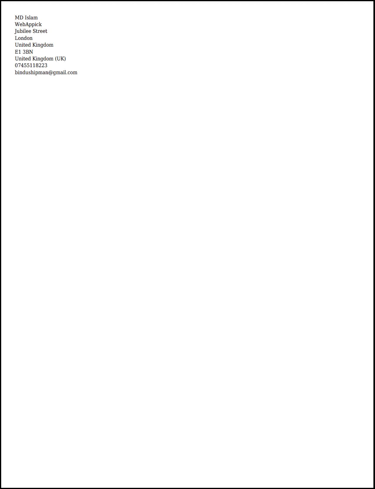 Challan PDF Shipping Label