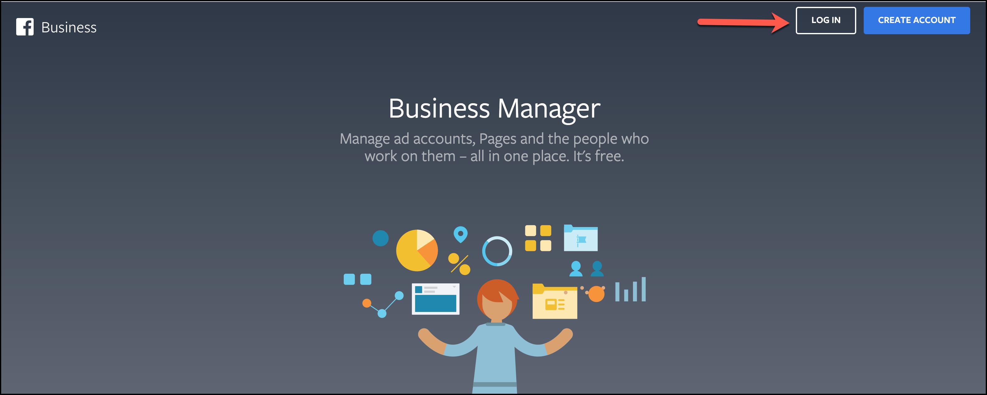 Facebook Business Manager Log in