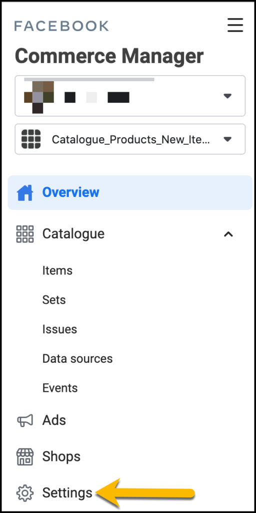 Commerce Manager Settings