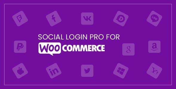 Social Login Pro Preview Image - social login plugin for WooCommerce