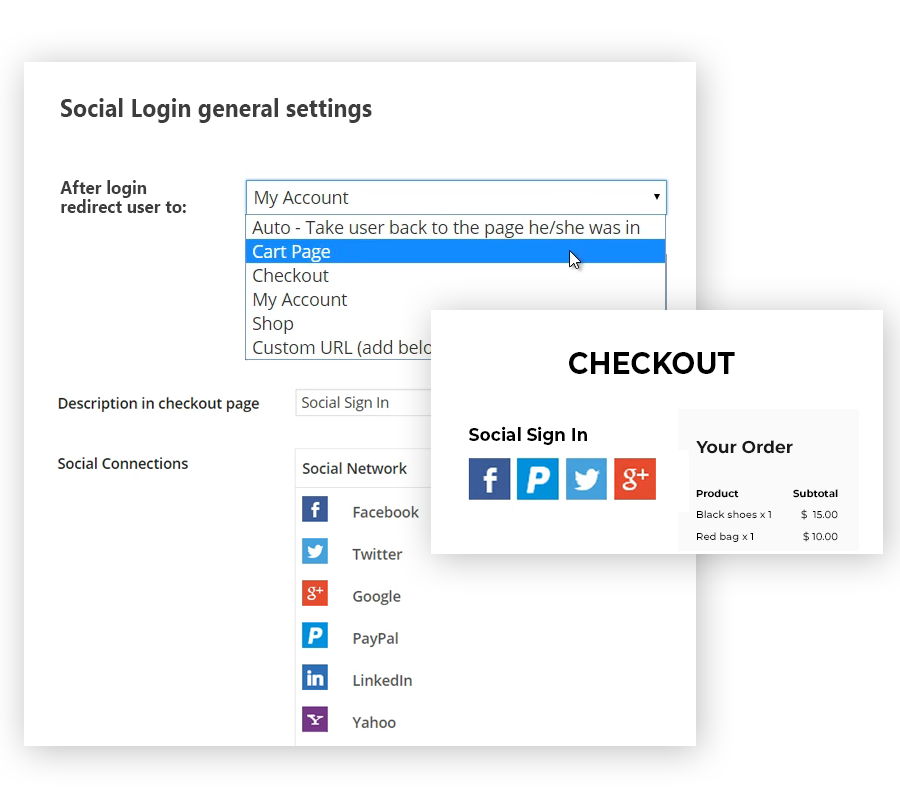 YITH Checkout image1 - WooCommerce Social Login