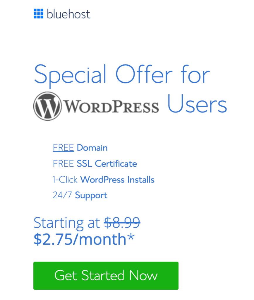 Blue Host Special Offer - WooCommerce Market Share